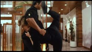 The famous Scorpion Kick