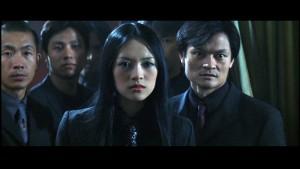The villainess Hu Li is leads the Triads