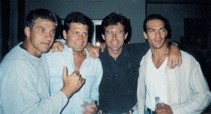 With action maestros-Gary Daniels, Keith Vitali and Darren Shahlavi