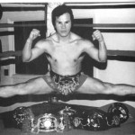 with championship title belts  image