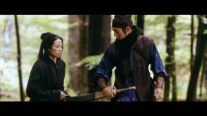 A successful prison break...Jin and Mei escape into the forest