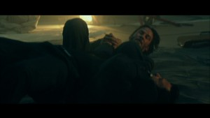 John Wick Keanu Reeves armbars his opponent