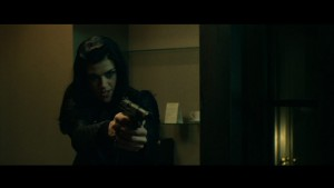 John Wick Ms. Perkins Adrianne Palicki has some issues with John