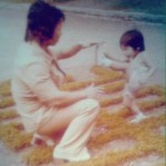 Old picture training with father Bolo