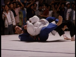 Some BJJ action