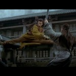 A classic Donnie Yen double kick