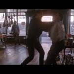 Fight in the deli
