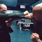 Jason Statham Dwayne Johnson Furious 7 Shaw takes on the mighty juggernaut Hobbs
