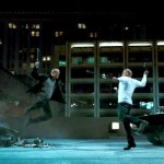 Jason Statham Vin Diesel Furious 7 An epic wrench battle