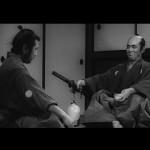 Muroto and Sanjuro take a meeting
