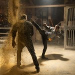 Tony Jaa and Dolph Lundgren a blaze of titans