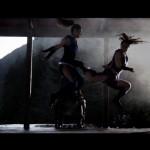 Mileena catches Kitana off guard