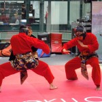 Silat demo at Festival Asia
