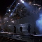 Chaos breaks out aboard the Missouri