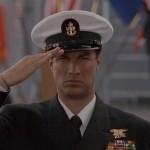 Steven Seagal uniformed in Under Seige