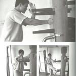 Wooden dummy training