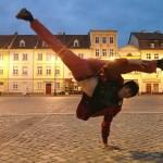 11. Aziz showing his capoeira