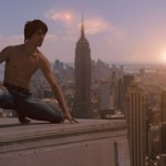 2. Aziz in Spider Man repose in New York