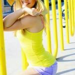 Amy modelling 3