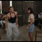 Famous boogie down scene in Kickboxer