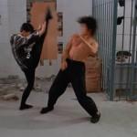 Yukari Oshima has some great kicking skills