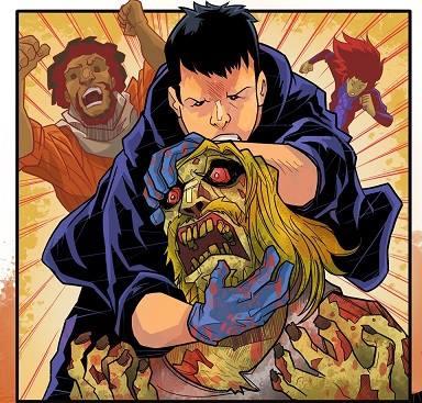 Zombie neck breaker