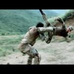 Leng Feng attacks with a Tornado Kick