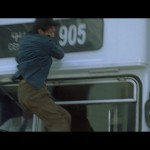 Nicholas Tse takes a mid air hit from a moving bus