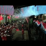 This train station scene was actually filmed in Thailand