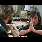 Yasuaki Kurata prepares to battle Richard Norton