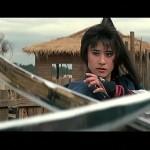Yukari Oshima takes on a sword wielding mob