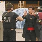 6. John working with Donnie Yen on Iceman