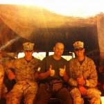 7. John brings his knowledge to US Marines