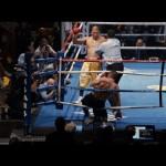 Miguel Magic Escobar knocks down Billy Hope