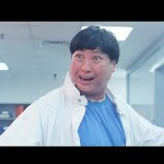 Sammo impersonates Bruce Lee