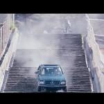 The car stunts are impressive