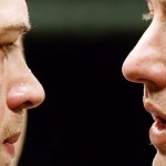 Tommy and Brendan prepare to face off