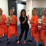 Backstage with world famous choreographer Arlene Phillips