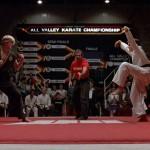 The Karate Kid made this Crane pose iconic