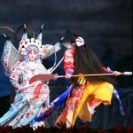 Wielding the famous Guandao weapon