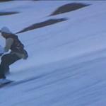 Cameramen on skis filmed the action