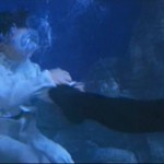 Even underwater the stunt team manage to fight