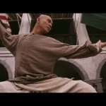 Jet Li in the classic Wong Fei hung stand off pose