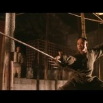 Jet Li performs some exquisite wushu postures