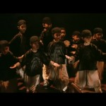 Kung Fu Kids in classic Kwan Tak Hing stance