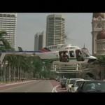 The finale begins in Merdeka Square in Kuala Lumpur
