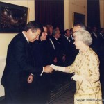 Vic meets the Queen