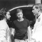 Working out the stunts with Steven Spielberg and Harrison Ford