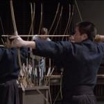 A lesson in Kyudo