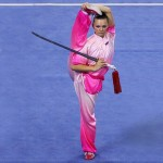 Svetlana Zhurkina of the Russian Wushu Team